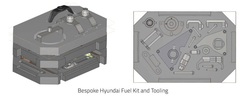 Automotive Tools Bespoke Fuel Kit for Hyundai