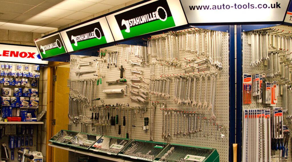 Automotive Tools Inside Our Shop
