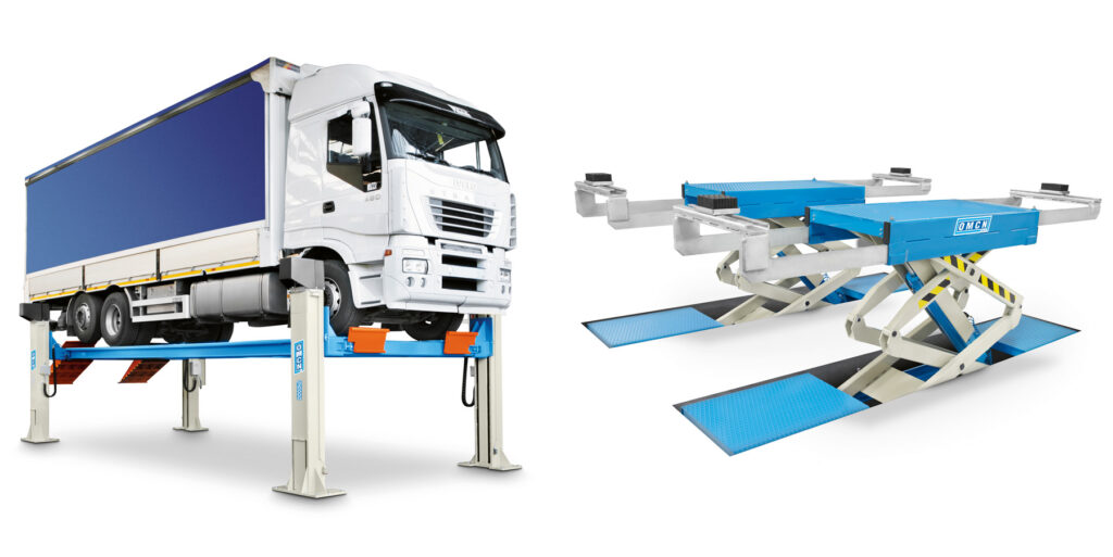 OMCN Vehicle Lift for HGVs