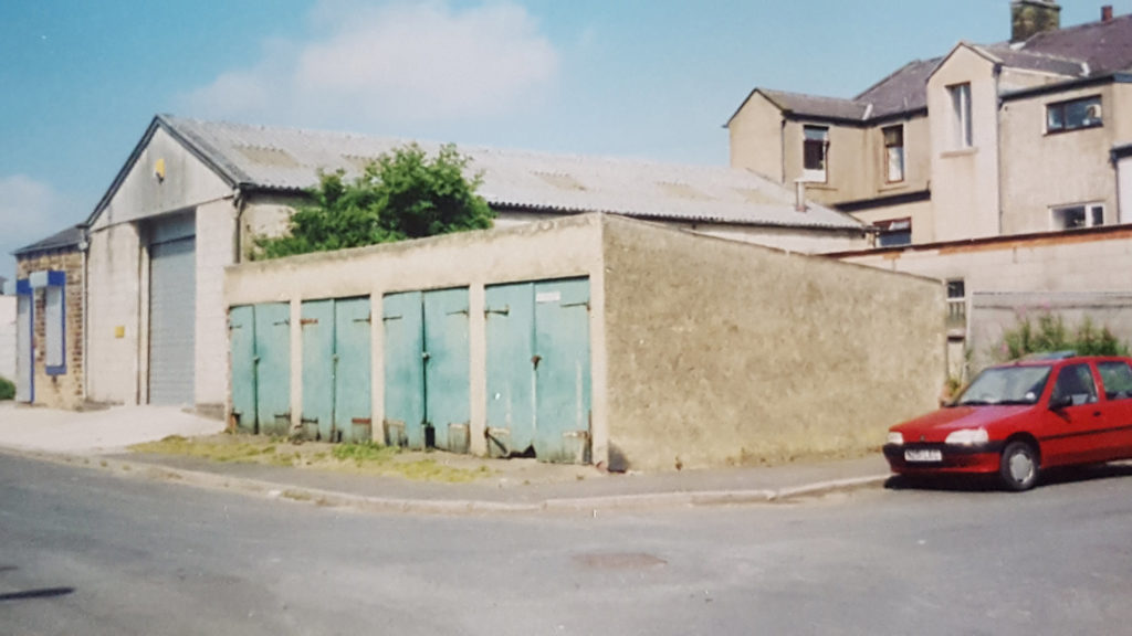 The old Autotools facility garages